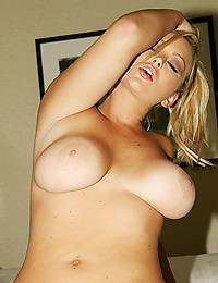 Curvaceous Blonde Abbey Exposes All
