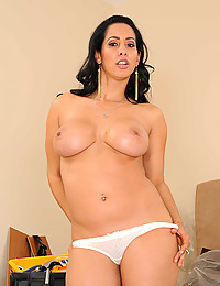 Hot MILF Isis Strips Down Naked