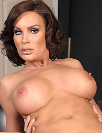 Hot brunette pornstar fucked