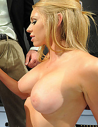 Natural titty sweetheart and big cock