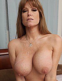 Freckled Milf Darla Impaled On Cock