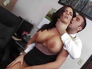 Office slut wants anal hardcore
