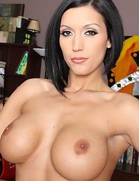 The big tits pornstar