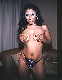Asian in corset loves cock