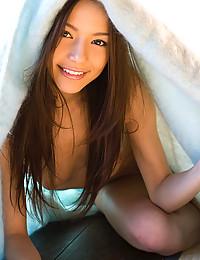 Stunning Asian Goddess Exposes Bushy Pussy
