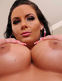 Oiled Babe Gets Anal Pumped