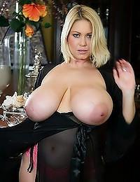 Her spectacular big beautiful tits