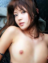 Nice hairy Japanese pussy