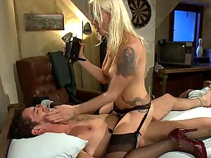 A Hardcore Fuck is all this Blonde Dominatrix Wanted