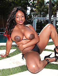 Mouth Watering Ebony Goddess Jada Fire