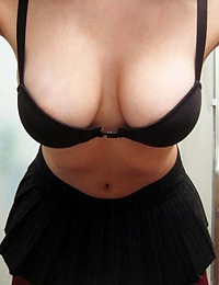 Photo selection of a busty curvy amateur girlfriend