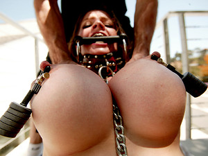 Porn Pros Network - When June Summers' husband asked us to humiliate the fuck out of his incredible busty wife, we gladly obliged. We tied her up and gagged her, slapped leather on her and even went as far as slapping her around via her husband's request.