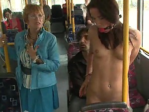 Sexy Teen Gives Some Great Head On Top OF Public Transportation