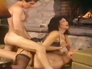Classic pornstar Vanessa Del Rio DP