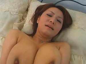 Chichi Asada gets fucked and shows off big tit cleavage
