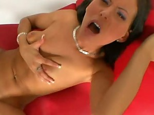 Awesome Hardcore Action In POV Vid With Stunning Brunette Lara Sharm