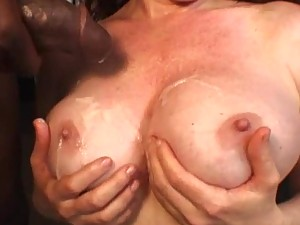 Busty Slut Mae Victoria Rides A Black Monster Cock