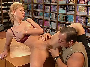 Sensual Blonde MILF Goes Anal on a Big Cock and Gets Facialized