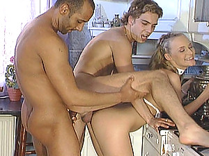 Nice bisexual scene