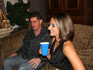 Horny Ariana Pleasures Multiple Men