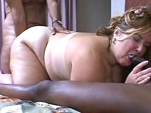 Interracial Mature BBW
