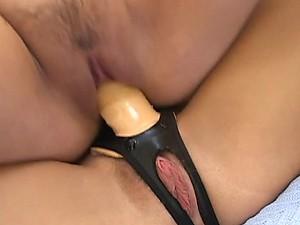 Gorgeous Blonde Lesbians Cum With Toys