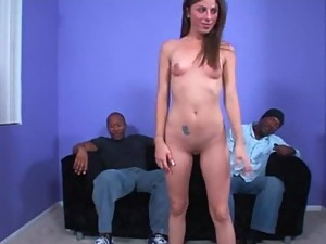 Teen Gangbanged Blowjob Facial and Creampie